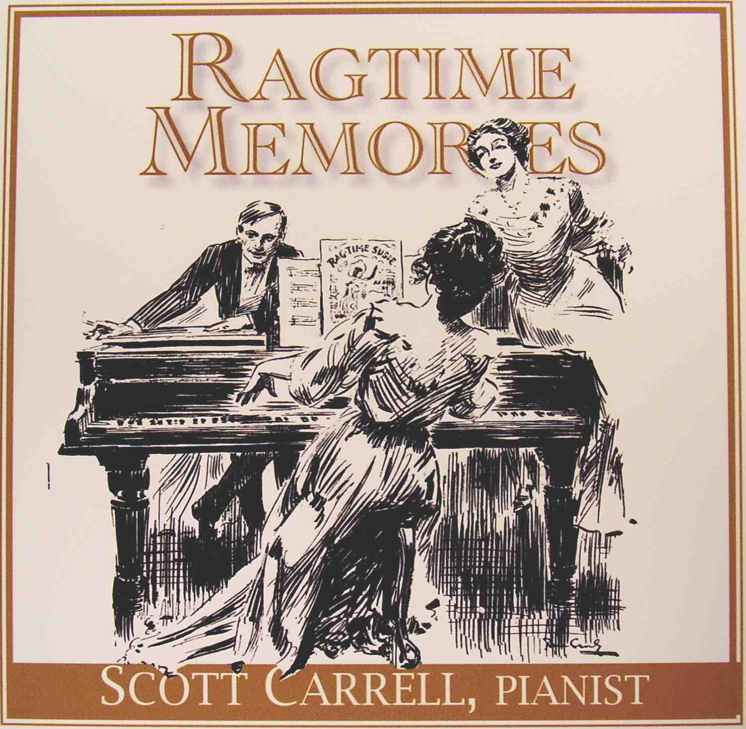 Compact Disc: RAGTIME MEMORIES